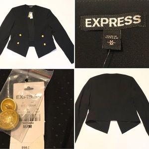 Fashion Short Blazer, Size Medium NWT, h Lo hem